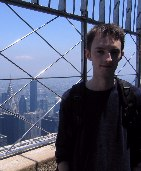 Me, on the Empire State observatory.