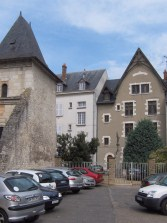 Behind the house of Joan Of Arc