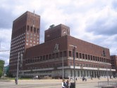 Oslo City Hall, where Nobel Peace Prizes are given