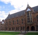 Keble College library.