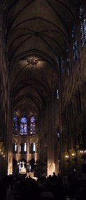 The Nave Of Notre Dame