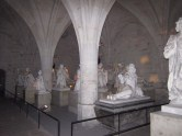 Statuary in the crypt