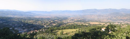 The Rieti Valley.