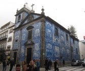 Chapel Of St. Catherine, covered in azulejo tiles