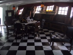 The Captain's quarters