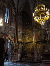 St. Wenceslaus Chapel, containing the tomb of Good King Wenceslaus and the Czech crown jewels