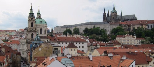 The lesser town of Prague