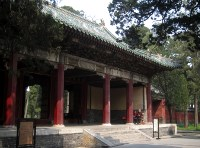 Gate at the Temple Of Confucius.