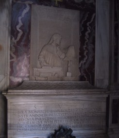 The tomb of Dante