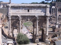 The Arch Of Septimius Severus.