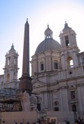 Sant'Agnese, on Piazza Navona.