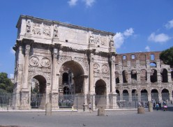 The Arch Of Constantine.