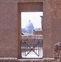 The Vatican from the Palatine Hill.