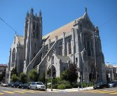 St. Dominic's (the dramatic flying buttresses were added after the 1989 earthquake)
