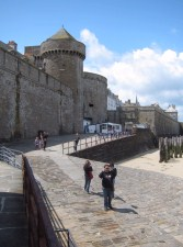 The city walls