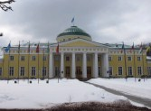 The Tauride Palace, seat of the Imperial Duma