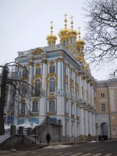 The church of the Catherine Palace