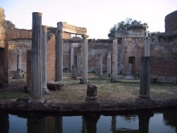 The 'Maritime Theatre', a private island for Hadrian alone.