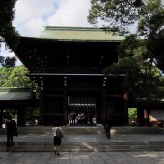 The gate of Meiji-jingu.