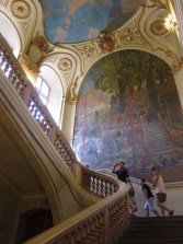 Staircase of the capitol.