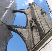 Massive buttress