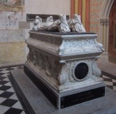 Tomb of two children of Charles VIII
