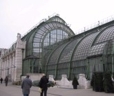 A glass house in the Hofburg grounds