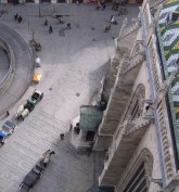 Carriages from above