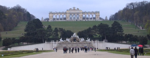 The Gloriette at Schönbrunn