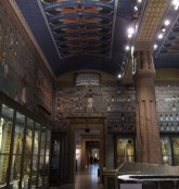 The Egyptian galleries
