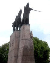 Grand Duke Gediminas, founder of the city