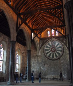 Great Hall, Winchester Castle (with King Arthur's Round Table)