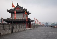 The walls of Xi'an.
