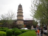 Pagoda of the former Baoqing Temple.