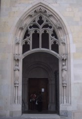 The door of Fraumünster.