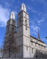 Grossmünster.